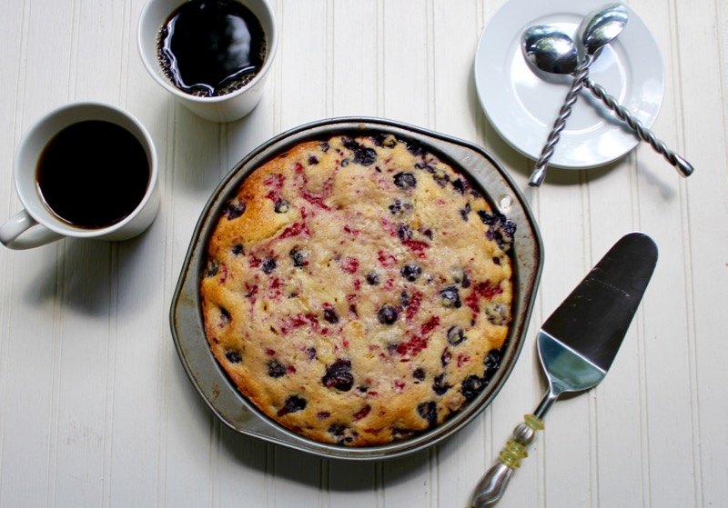 Summer Berry Buckle 1