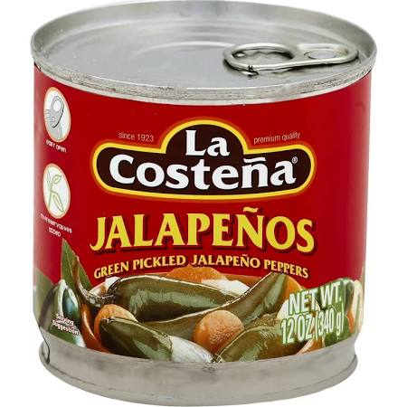 La Costena pickled jalapenos
