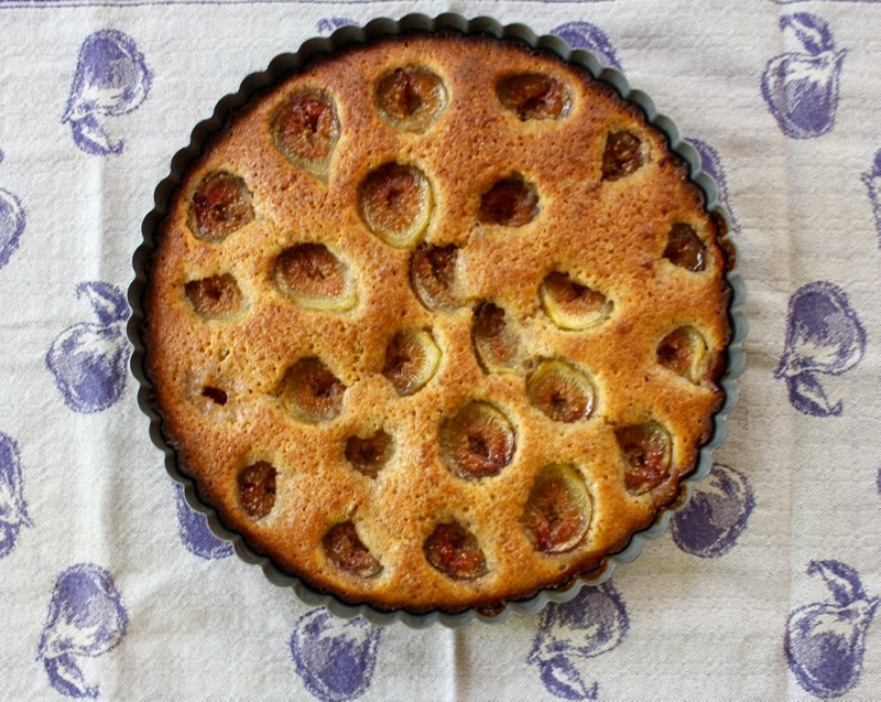 Fig and Almond Cake 1