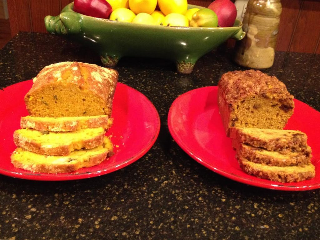 Savory and Sweet Pumpkin Bread