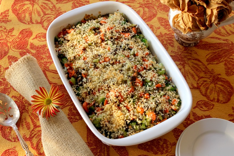 Broccoli Wild Rice Casserole 1