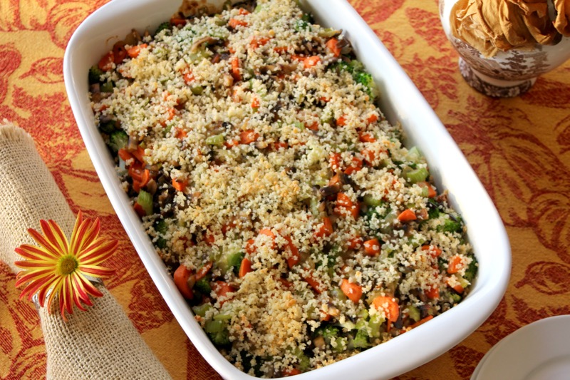 Broccoli Wild Rice Casserole 3