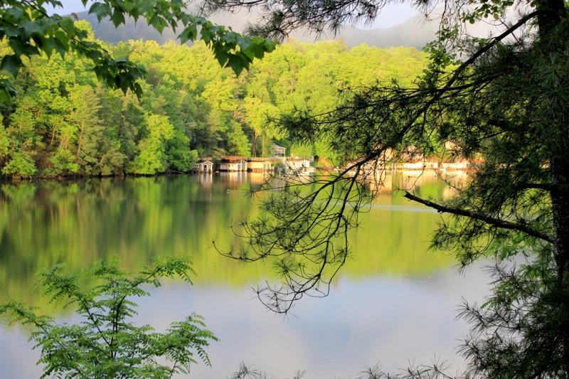 Lake Lure Spring 2