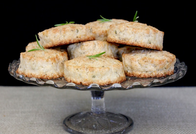 Sugared Lemon Rosemary Scones