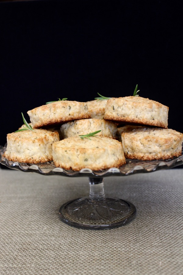 Sugared Rosemary-Lemon Scones - {the} Lost Kitchen - Lake ...