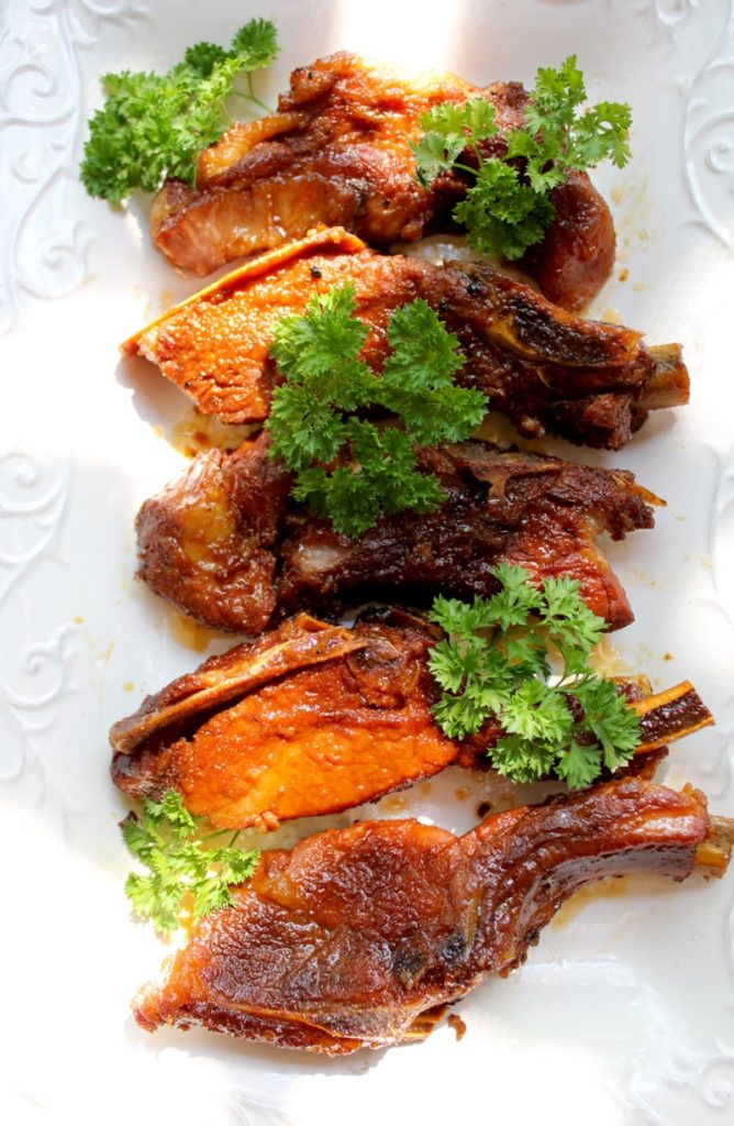 Caramalized Pork Ribs 2
