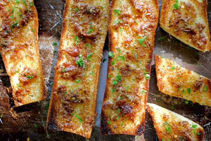 Garlic Confit Bread