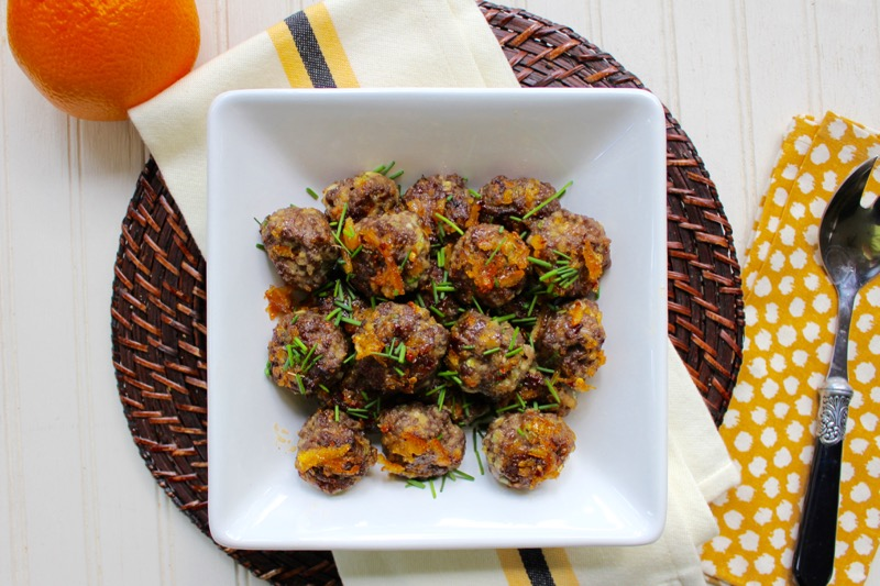 Marmalade Meatballs