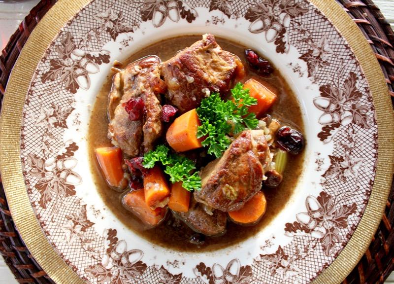 Pork Stew Agrodolce