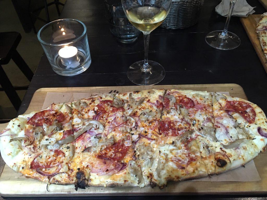 Flammkuchen Pizza